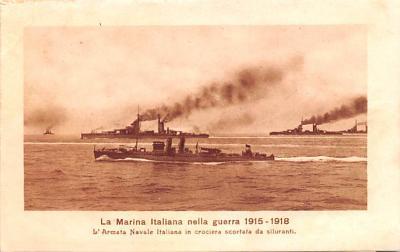 mil052127 - Military Battleship Postcard, Old Vintage Antique Military Ship Post Card