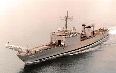 mil052136 - Military Battleship Postcard, Old Vintage Antique Military Ship Post Card