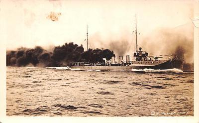mil052177 - Military Battleship Postcard, Old Vintage Antique Military Ship Post Card