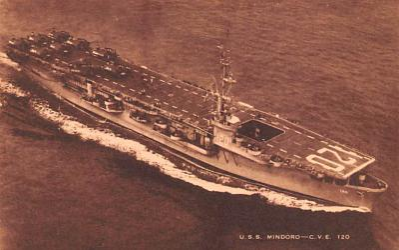 mil052187 - Military Battleship Postcard, Old Vintage Antique Military Ship Post Card