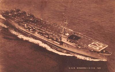 mil052190 - Military Battleship Postcard, Old Vintage Antique Military Ship Post Card