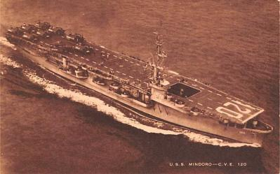 mil052192 - Military Battleship Postcard, Old Vintage Antique Military Ship Post Card