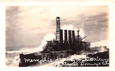 mil052197 - Military Battleship Postcard, Old Vintage Antique Military Ship Post Card