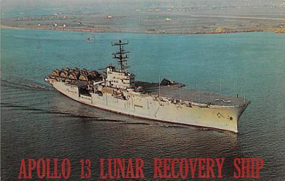 mil052253 - Military Battleship Postcard, Old Vintage Antique Military Ship Post Card