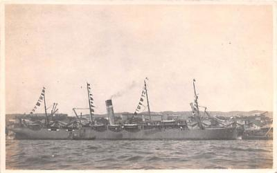 mil052258 - Military Battleship Postcard, Old Vintage Antique Military Ship Post Card