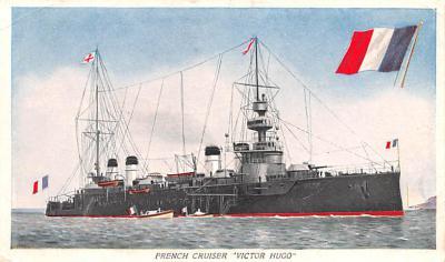 mil052259 - Military Battleship Postcard, Old Vintage Antique Military Ship Post Card