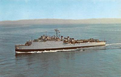mil052266 - Military Battleship Postcard, Old Vintage Antique Military Ship Post Card