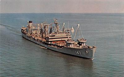 mil052268 - Military Battleship Postcard, Old Vintage Antique Military Ship Post Card