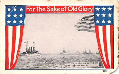 mil052319 - Military Battleship Postcard, Old Vintage Antique Military Ship Post Card