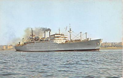 mil052373 - Military Battleship Postcard, Old Vintage Antique Military Ship Post Card