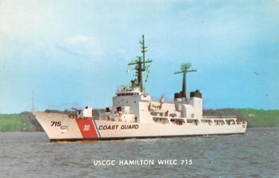 mil052383 - Military Battleship Postcard, Old Vintage Antique Military Ship Post Card