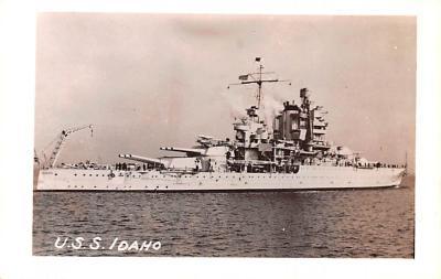 mil052394 - Military Battleship Postcard, Old Vintage Antique Military Ship Post Card