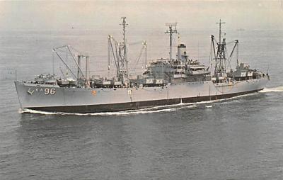 mil052421 - Military Battleship Postcard, Old Vintage Antique Military Ship Post Card