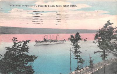 mil052434 - Military Battleship Postcard, Old Vintage Antique Military Ship Post Card