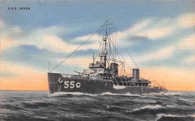 mil052450 - Military Battleship Postcard, Old Vintage Antique Military Ship Post Card