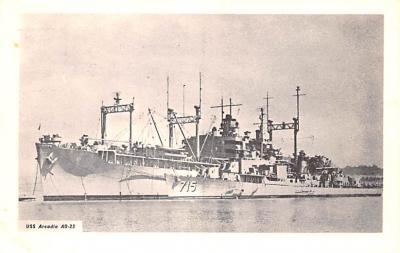 mil052454 - Military Battleship Postcard, Old Vintage Antique Military Ship Post Card