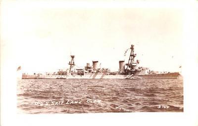 mil052462 - Military Battleship Postcard, Old Vintage Antique Military Ship Post Card