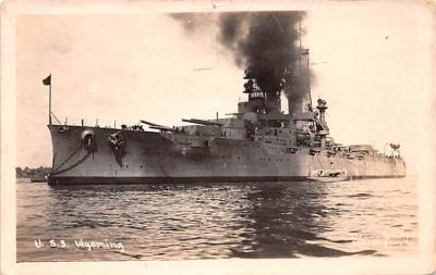 mil052463 - Military Battleship Postcard, Old Vintage Antique Military Ship Post Card