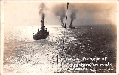 mil052481 - Military Battleship Postcard, Old Vintage Antique Military Ship Post Card