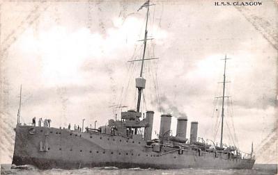 mil052511 - Military Battleship Postcard, Old Vintage Antique Military Ship Post Card
