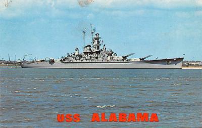 mil052513 - Military Battleship Postcard, Old Vintage Antique Military Ship Post Card