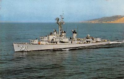 mil052515 - Military Battleship Postcard, Old Vintage Antique Military Ship Post Card
