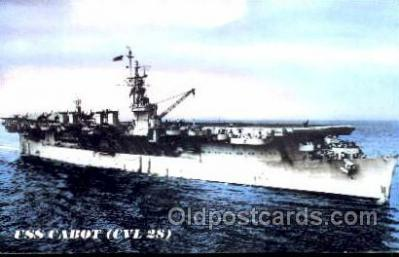 mil100034 - U.S.S. USS Cabot  Military Aircraft Carrier