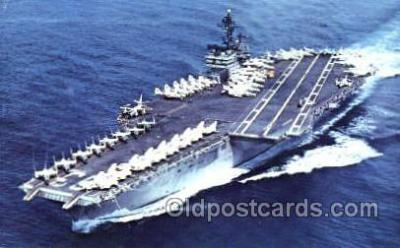 mil100046 - Non - Postcard Backing Military Aircraft Carrier