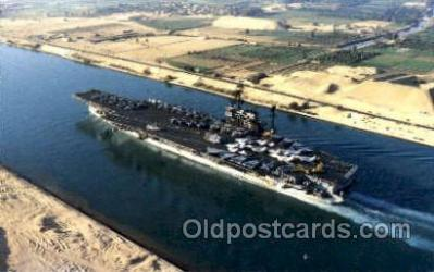 mil100049 - Suez Canal Transit   Military Aircraft Carrier