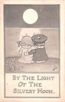 mil201012 - Military Comic Postcard, Old Vintage Antique Post Card