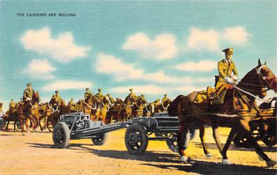 mil201013 - Military Comic Postcard, Old Vintage Antique Post Card