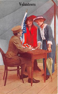 mil201053 - Military Comic Postcard, Old Vintage Antique Post Card