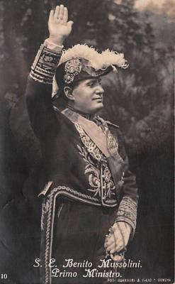 mil300037 - Benito Amilcare Andrea Mussolini, Italian leader of the National Fascist Party