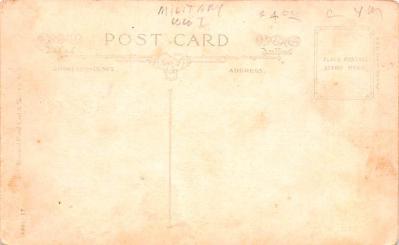 mil400055 - Military Post Card Old Vintage Antique Postcard  back