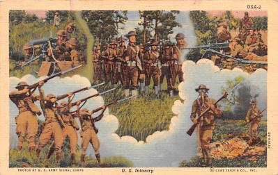 mil400113 - Military Post Card Old Vintage Antique Postcard