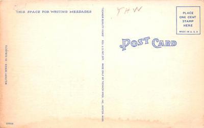 mil400143 - Military Post Card Old Vintage Antique Postcard  back
