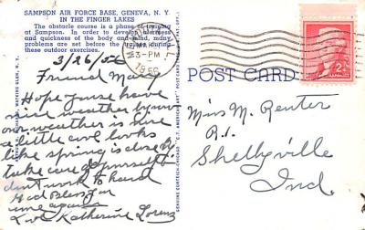mil400145 - Military Post Card Old Vintage Antique Postcard  back