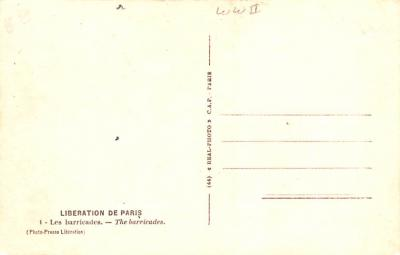 mil400157 - Military Post Card Old Vintage Antique Postcard  back
