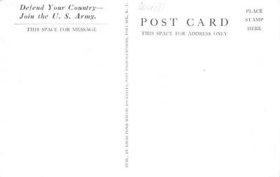 mil400165 - Military Post Card Old Vintage Antique Postcard  back