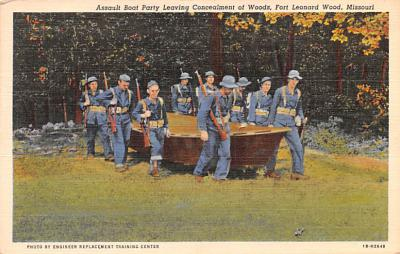 mil400203 - Military Post Card Old Vintage Antique Postcard