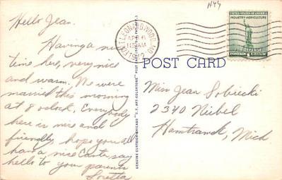 mil400203 - Military Post Card Old Vintage Antique Postcard  back