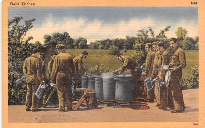 mil400215 - Military Post Card Old Vintage Antique Postcard