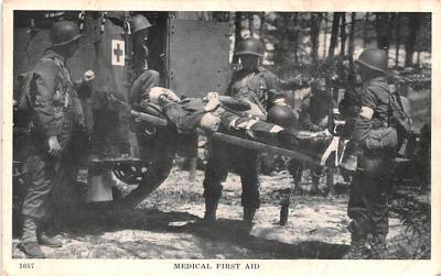 mil400225 - Military Post Card Old Vintage Antique Postcard