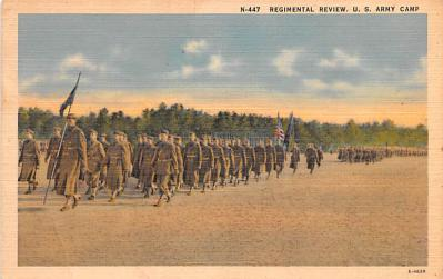 mil400237 - Military Post Card Old Vintage Antique Postcard
