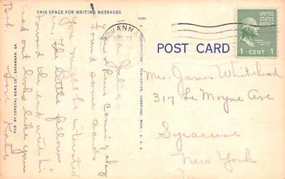 mil400249 - Military Post Card Old Vintage Antique Postcard  back