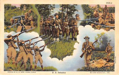 mil400253 - Military Post Card Old Vintage Antique Postcard