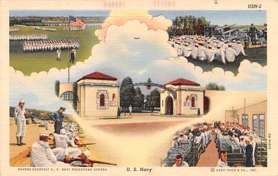 mil400259 - Military Post Card Old Vintage Antique Postcard