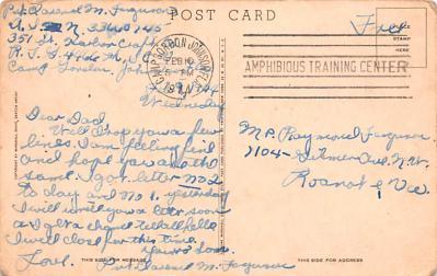 mil400267 - Military Post Card Old Vintage Antique Postcard  back