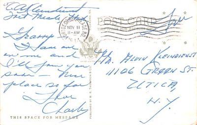 mil400271 - Military Post Card Old Vintage Antique Postcard  back