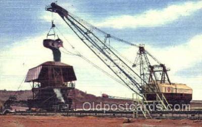 mng001001 - Minnesot'a Famed Mesabi Iron Range at Hibbing, Mining Postcard Postcards